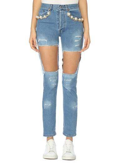 Forte Couture Pantolon Mavi
